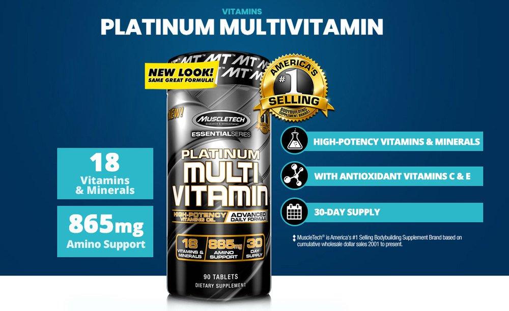 MuscleTech Platinum Multivitamin