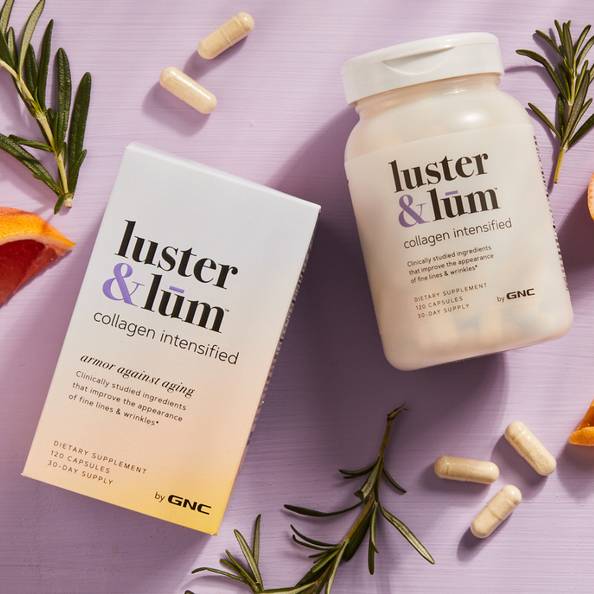 GNC luster & lum® Collagen Intensified