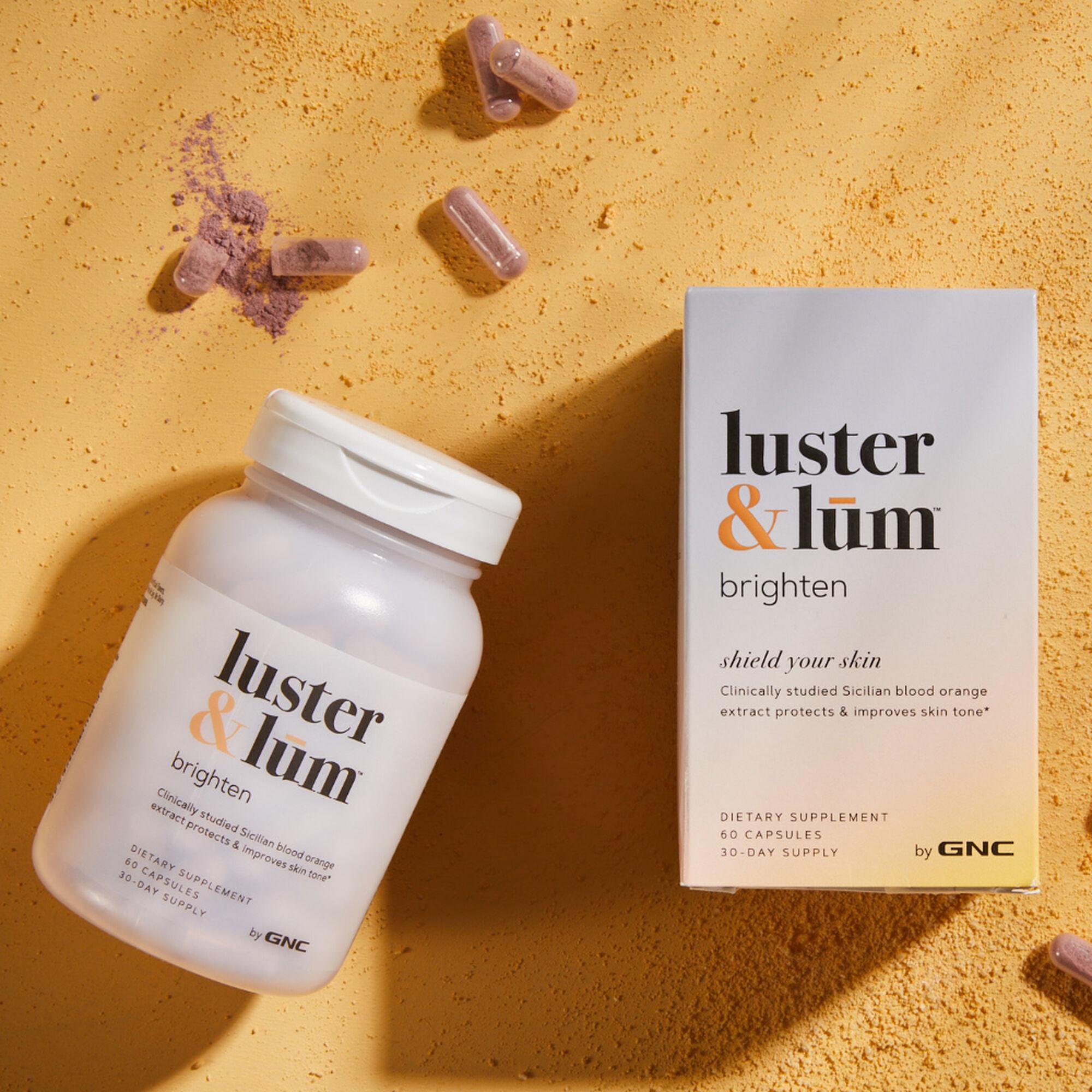 GNC luster & lum® Brighten 60 капсул